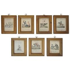 Set of Grammar Framed Art Pieces