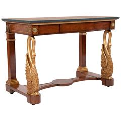"""Rare Console or Side Table from """"Windsor Castle"""""""