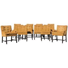 12 Dining Chairs by Harvey Probber for Directional