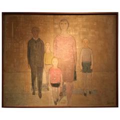 Modernist Family Portrait