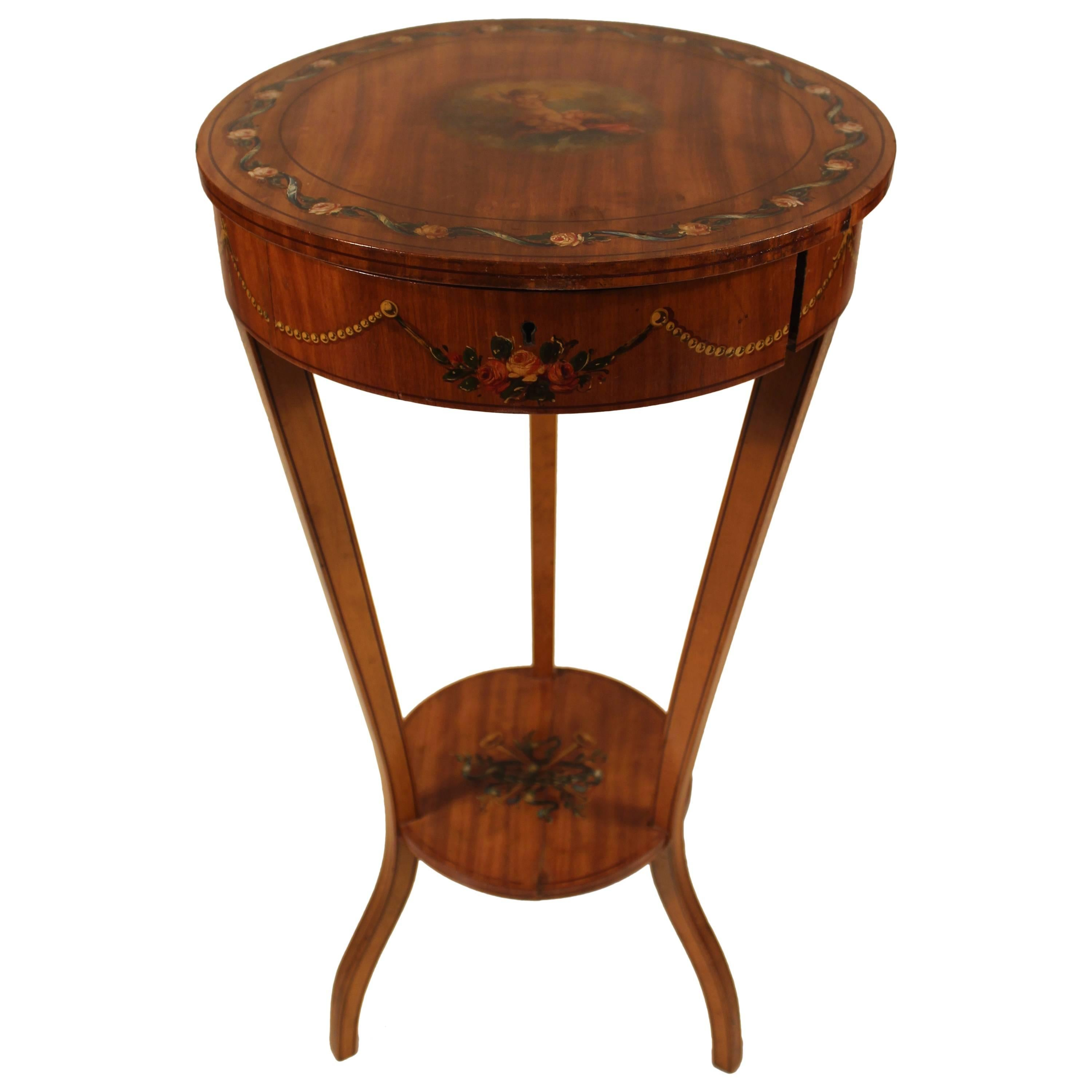19th Century Sheraton Style Working Table