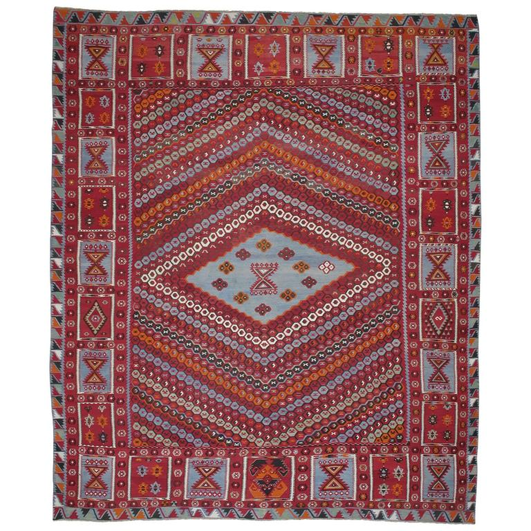 Superb Antique Sharkisla Kilim For Sale