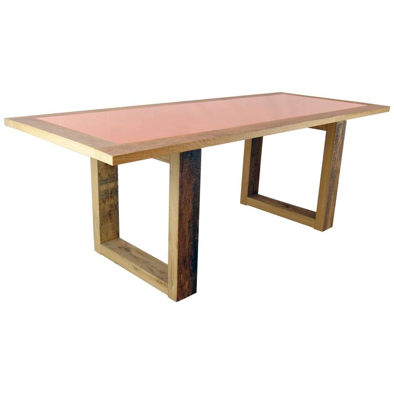 Copper Dining Room Table Greylock Top