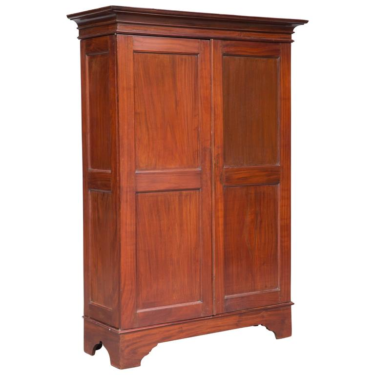 dutch colonial armoire from ceylon at 1stdibs. Black Bedroom Furniture Sets. Home Design Ideas