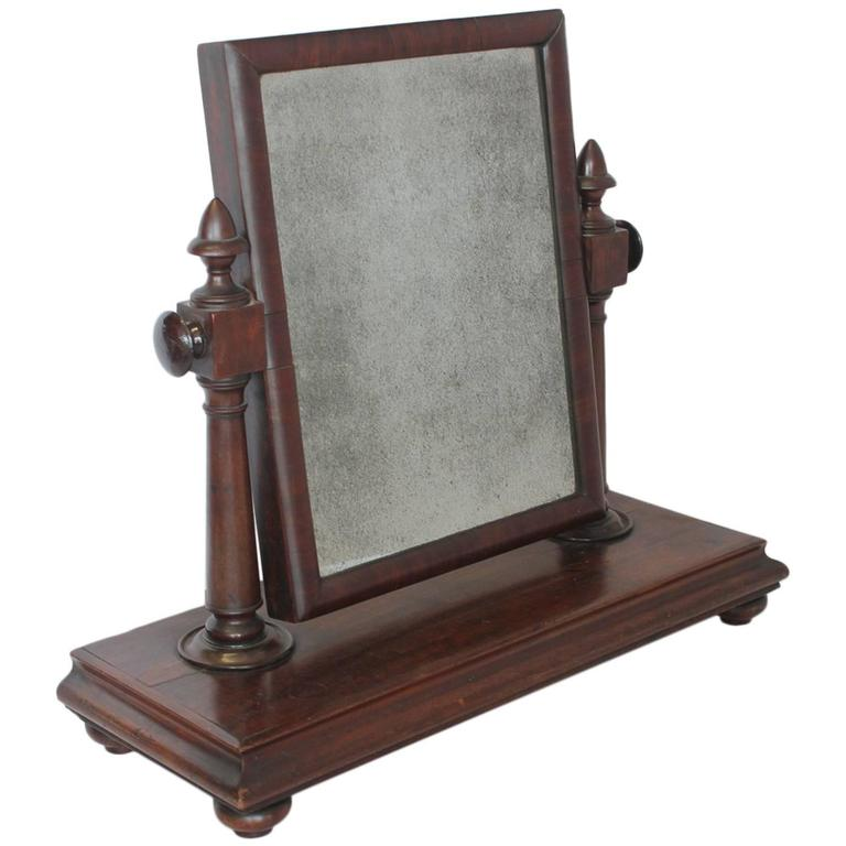 Large antique gentleman vanity mirror for sale at 1stdibs for Big mirrors for sale