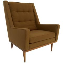 "Milo Baughman for James Inc. ""KIng"" Lounge Chair"