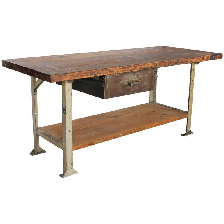 1930s American Industrial Table