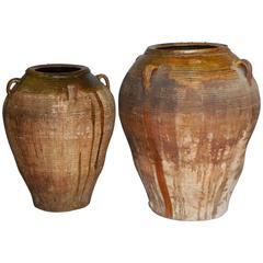 19th Century Large Scale Spanish Pots