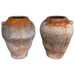 Pair of 19th Century Large Scale Pots