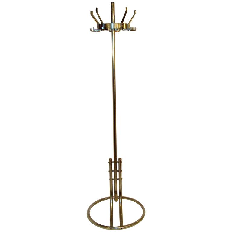 Machine Age Art Deco Coat Rack