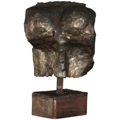 Bronze Sculpture of a Female Torso