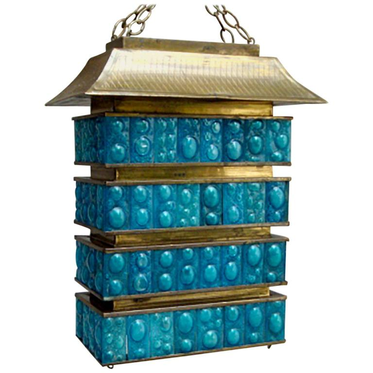Pagoda Chandelier by Feders