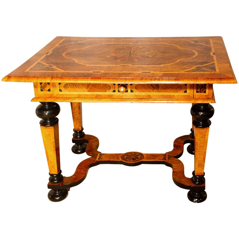 18th Century German Baroque Table For Sale