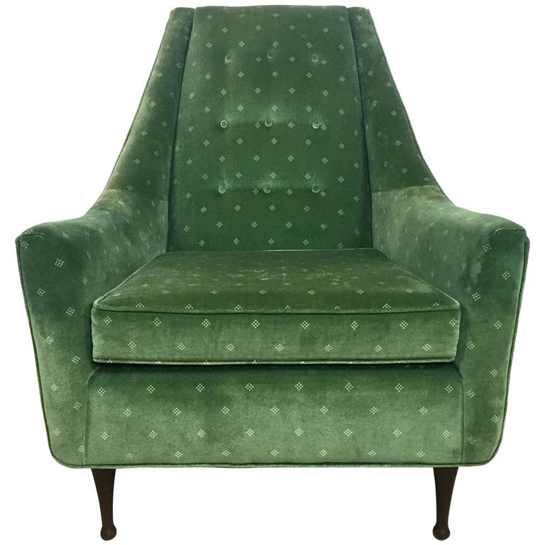 Rare Paul Mccobb Symmetric Group Lounge Chair