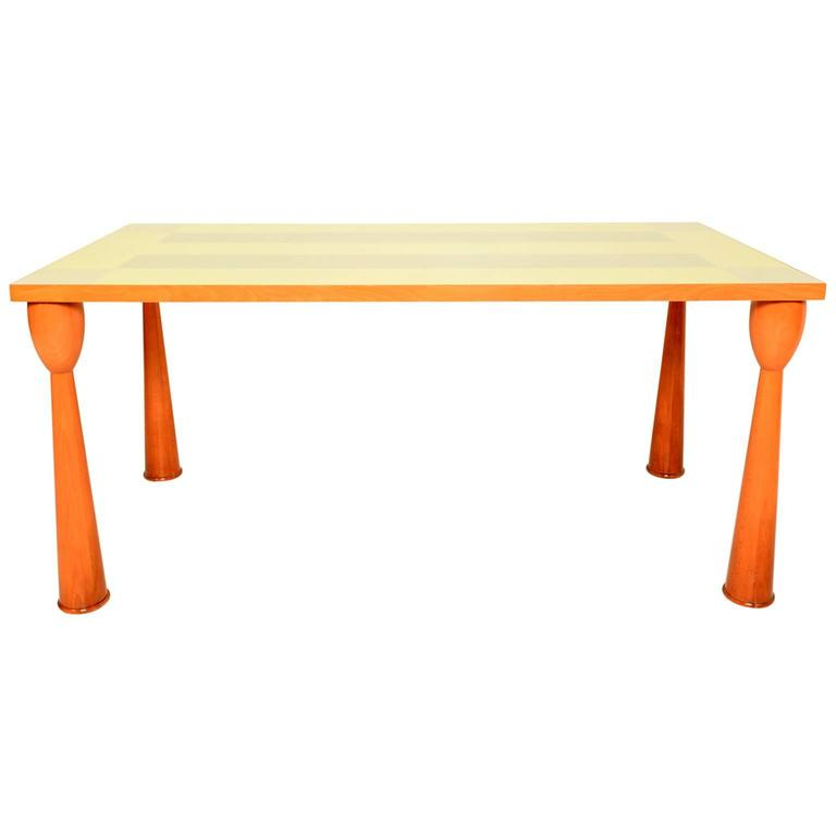 Ettore Sottsass Dining Table for Zanota 1994