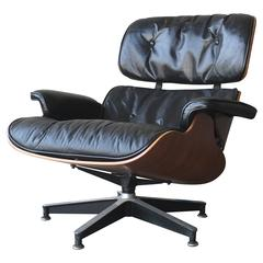 Rosewood Herman Miller Eames 670 Lounge Chair