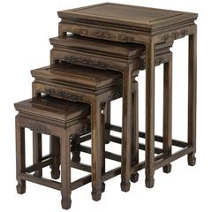 Rosewood Chinese Nesting Tables