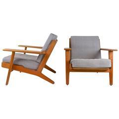 Lounge Chair, GE290 by Hans J. Wegner for GETAMA, Denmark, 1950s-1960s