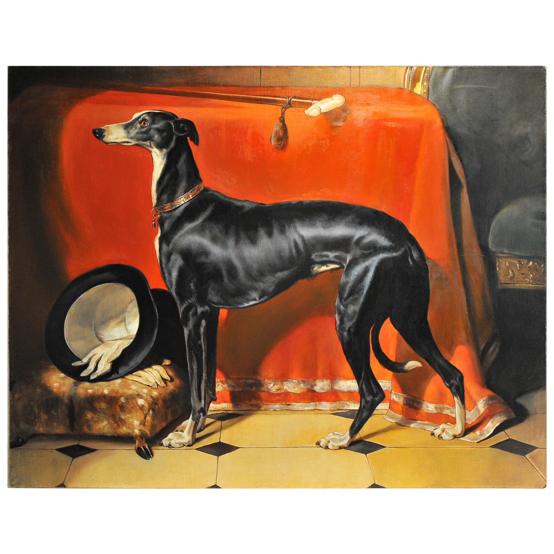 Painting of Eos after Sir Edward Landseer