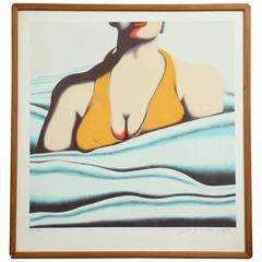"""The Beach"" Serigraph by Jack Brusca"