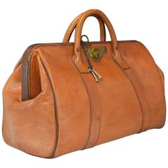 Leather Bank Bag
