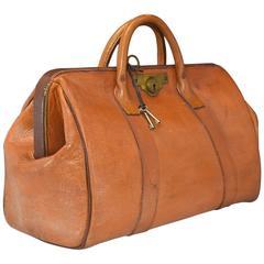 Leather Bank Bag