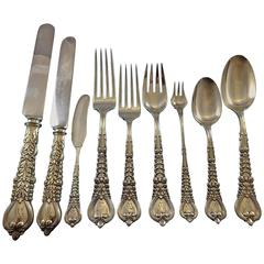 Florentine by Tiffany & Co Sterling Silver Flatware Set for 12 Service 160 Pcs