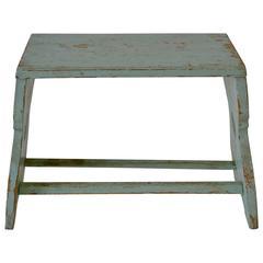 Painted Pine Footstool