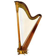 19th Century T Dodds London N.582 Musical Harp