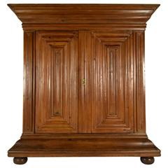 Large 19th Century German Schrank Armoire