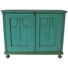 Painted Pine Cupboard