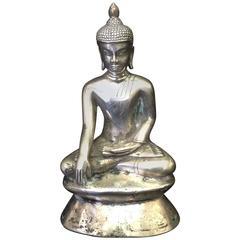 Silver Buddha, 19th Century