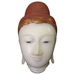 Mandalay Buddha Head, 19th Century
