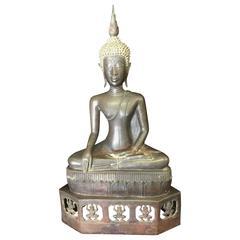 Bronze Laos Buddha, 18th Century