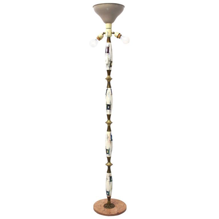 Italian Mid-Century Modern Floor Lamp, 1940s