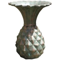 Fabulous Pineapple Motiffe Fiberglass and Resin Vase