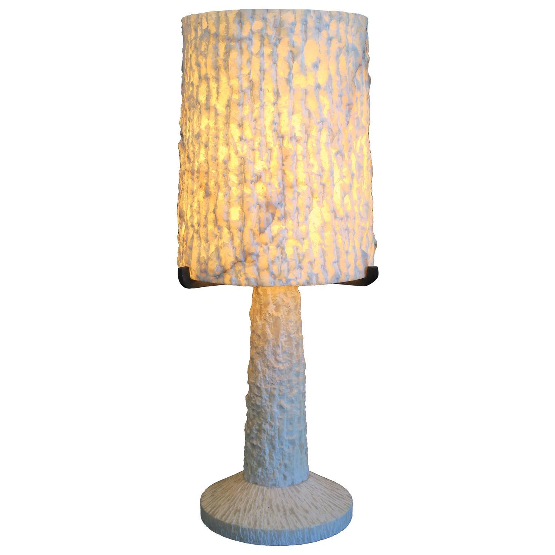 Brutalist Alabaster Table Lamp 1940 1950 At 1stdibs