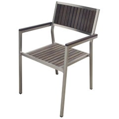 Outdoor Dining Chair with Arms