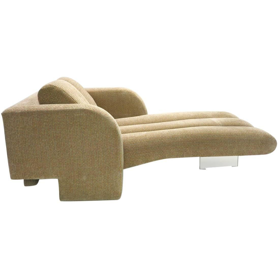 Chaise longue by vladimir kagan great original condition for Chaise longue for sale
