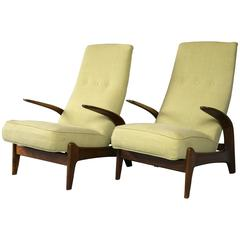 Pair of Gimson & Slater Rock n Rest Chairs