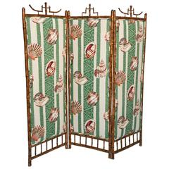 Superb English Bamboo Screen