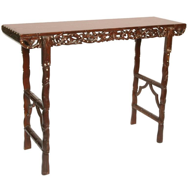 Superb Cantonese Altar Table