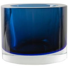 Sommerso Vase Model 14351 by Seguso