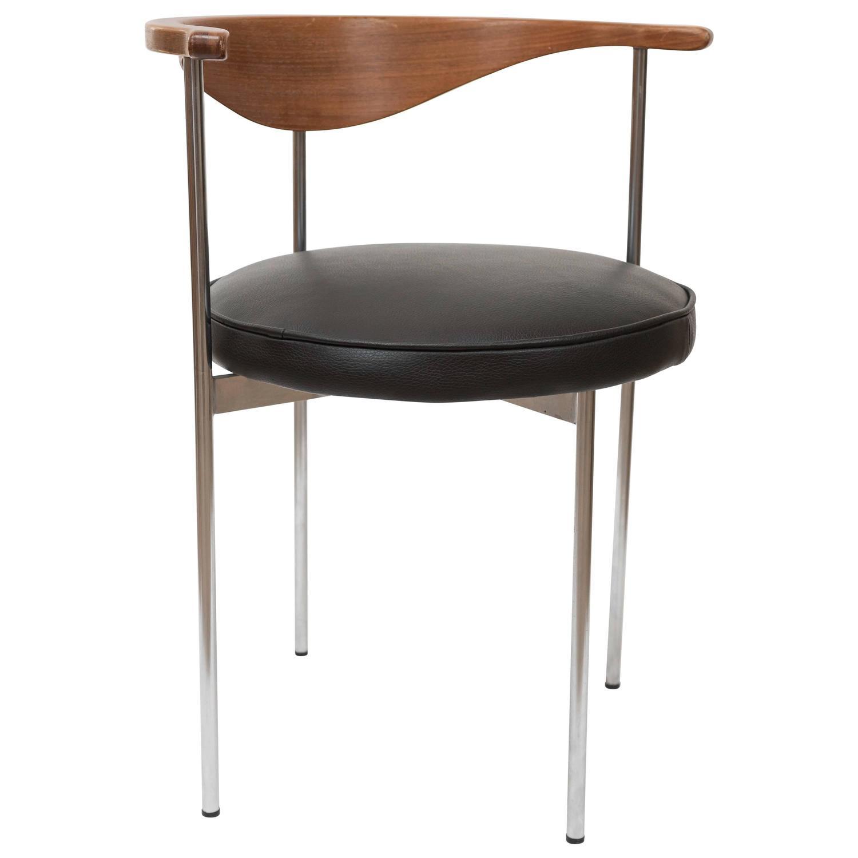 Fritz Hansen Model 3200 Elbow Chair Denmark Circa 1963