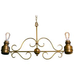 Antique Brass Island Light