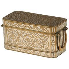 Maranao Silver Inlaid Betel Nut Box