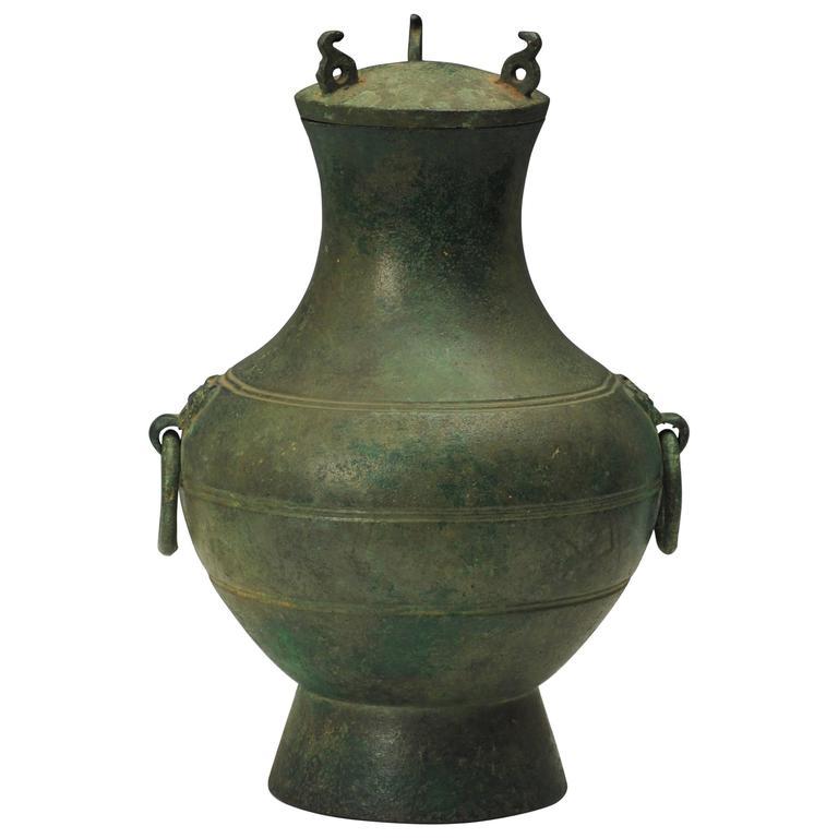Chinese Bronze Archaic Vase At 1stdibs