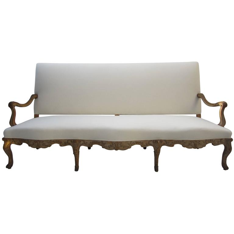 19th century louis xv style canape for sale at 1stdibs for Louis xv canape sofa