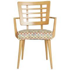American Modern Maple Dining Armchair