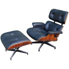 1970s Eames Lounge and Ottoman 670 / 671